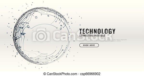 technology circuit diagram design background - csp66966902