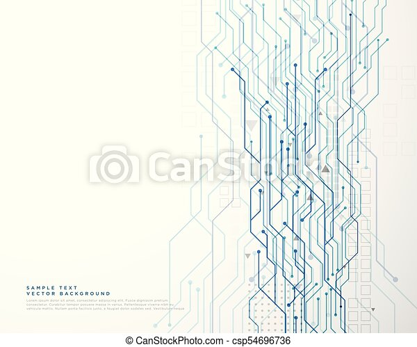 technology circuit diagram network background - csp54696736