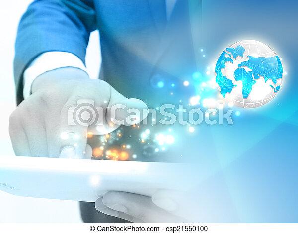 Technology communication. - csp21550100