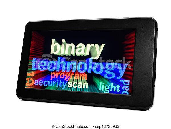 Technology concept - csp13725963
