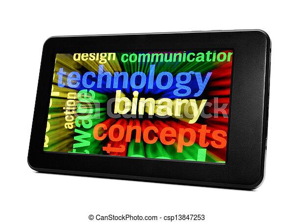 Technology concept - csp13847253