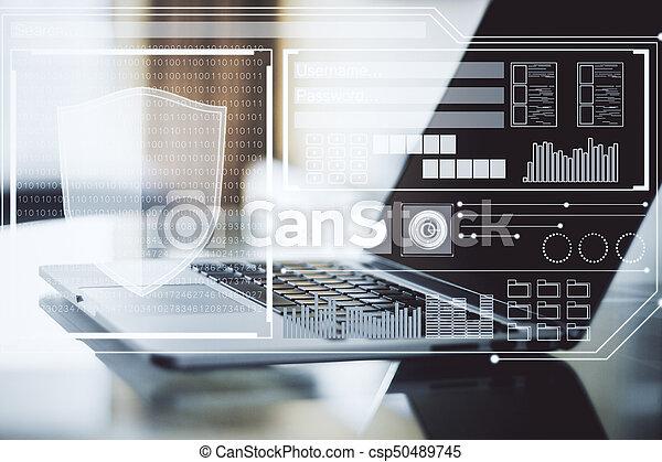 Technology concept - csp50489745