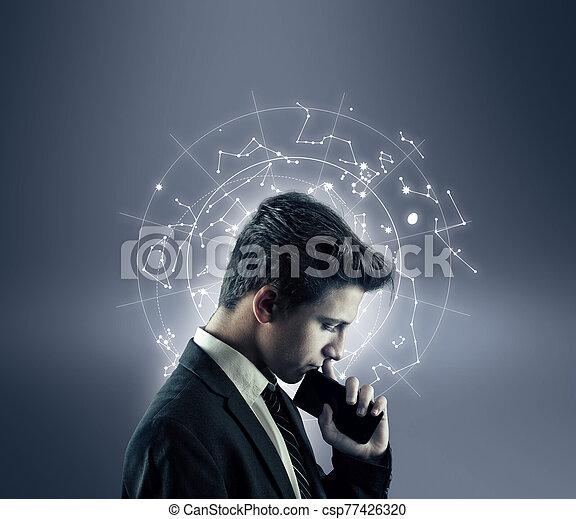 Technology futuristic - csp77426320