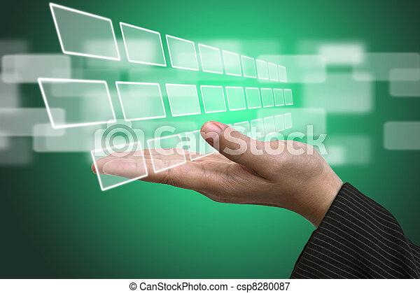 Technology Input Screen Interface  - csp8280087