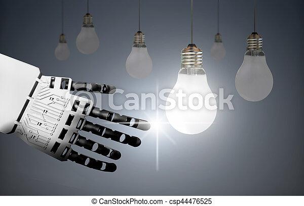 Technology leader concept - csp44476525