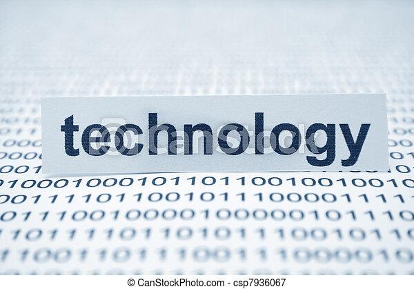 Technology - csp7936067