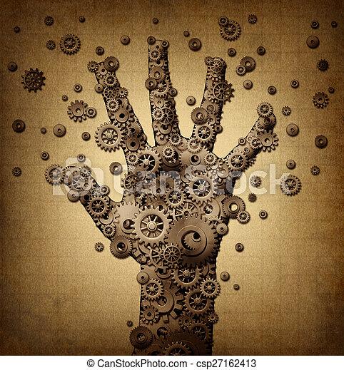 Technology touch - csp27162413