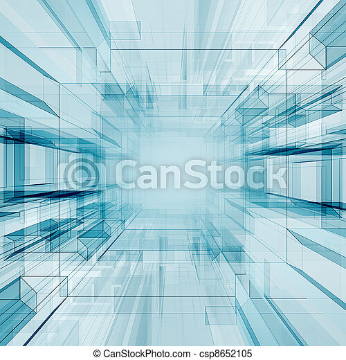 Technology tunnel - csp8652105