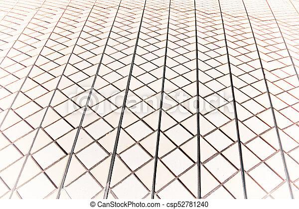 Textura de fondo de un techo de cerámica - csp52781240