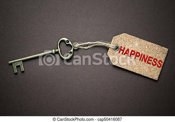 tecla, felicidade - csp50416087