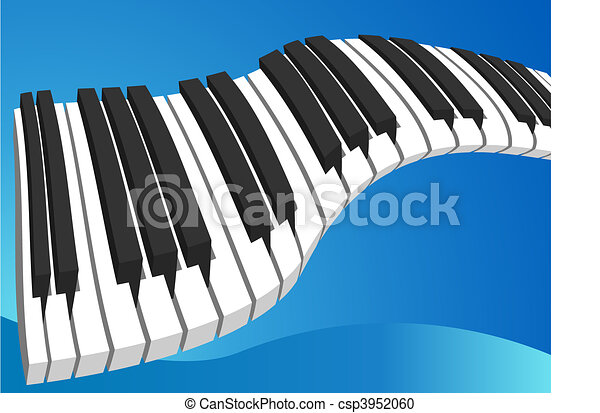 teclado de piano - csp3952060