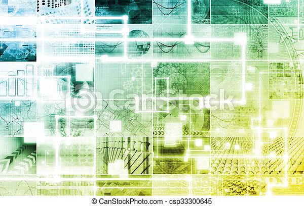 Tecnología avanzada - csp33300645
