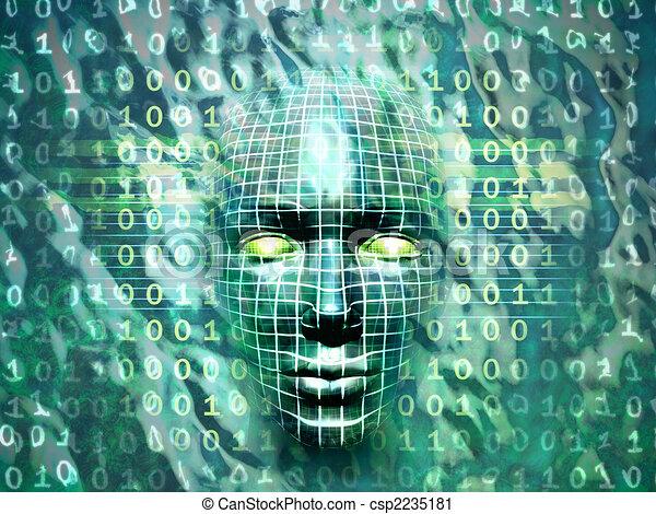 Tecnología humana - csp2235181