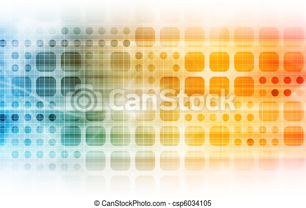 tecnologia, affari - csp6034105