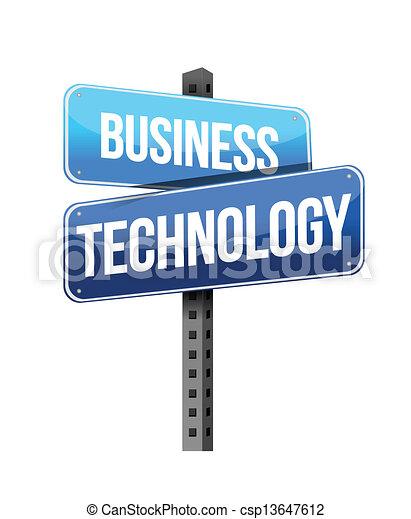 tecnologia, affari firmano - csp13647612