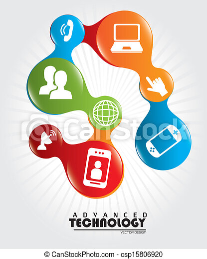 tecnologia, avanzato - csp15806920