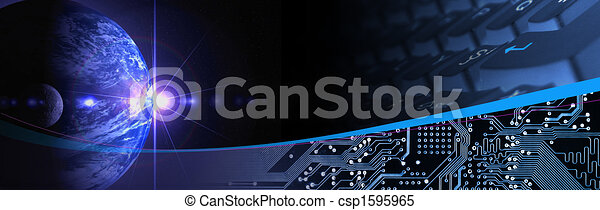 tecnologia, bandiera - csp1595965