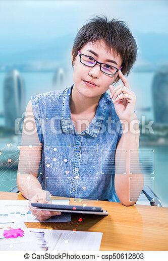 tecnologia, fintech, inovação - csp50612803