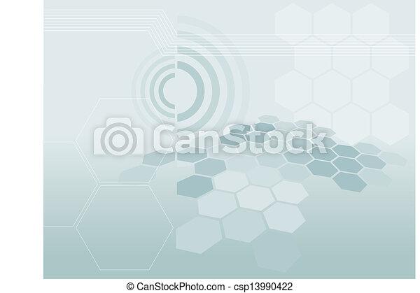 tecnologia, fundo - csp13990422