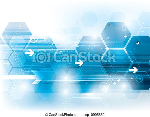 tecnologia, fundo - csp10995652