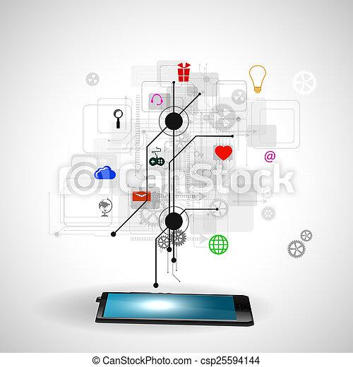 tecnologia, internet - csp25594144