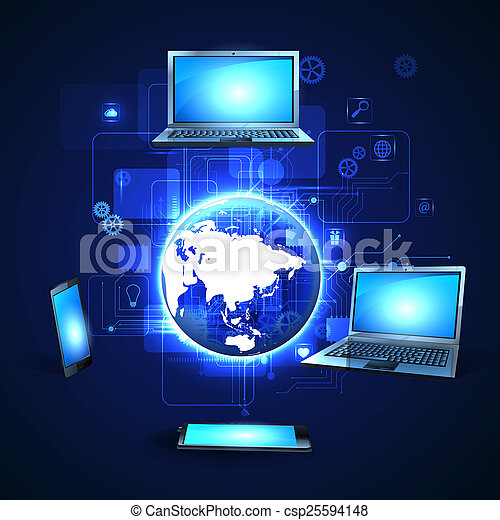 tecnologia, internet - csp25594148