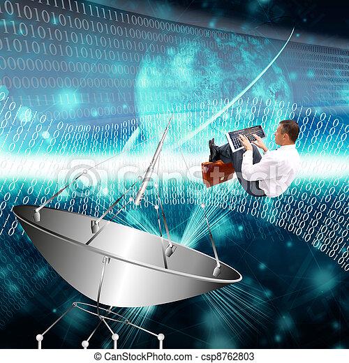 tecnologia, internet - csp8762803