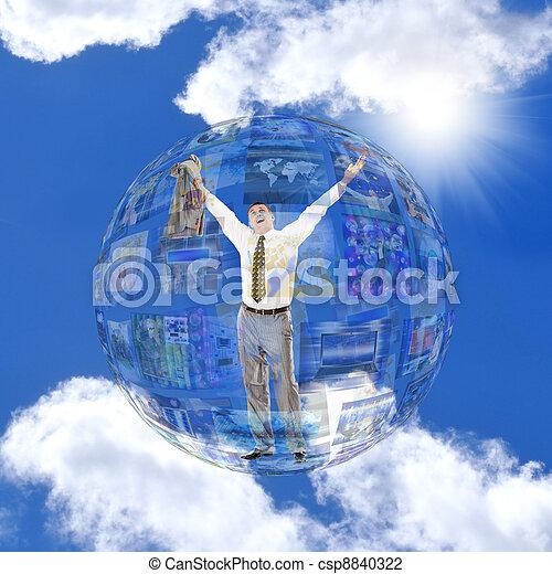 tecnologia, internet - csp8840322
