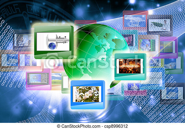 tecnologia, internet - csp8996312