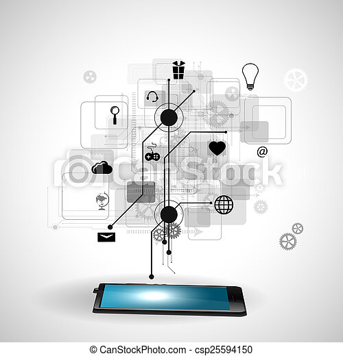 tecnologia, internet - csp25594150
