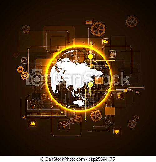 tecnologia, internet - csp25594175