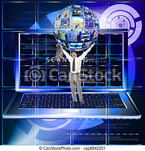 tecnologia, internet - csp8842201