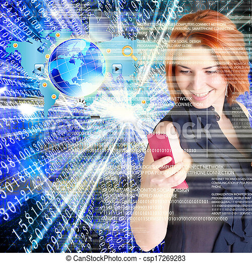 tecnologia, internet - csp17269283