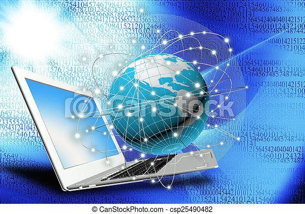 tecnologia, internet - csp25490482