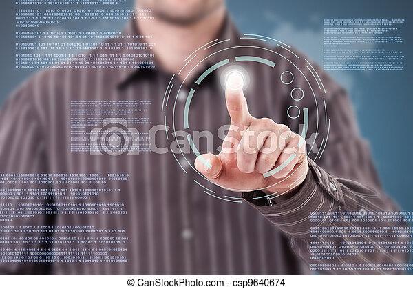 tecnologia moderna - csp9640674