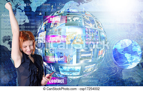 tecnologias, newest, internet - csp17254002