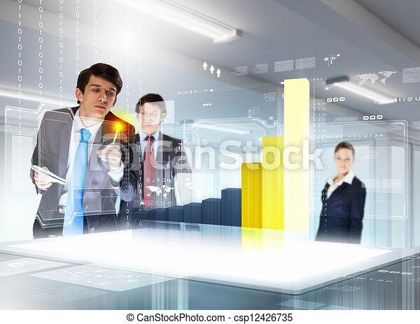 tecnologie, affari, innovazione - csp12426735
