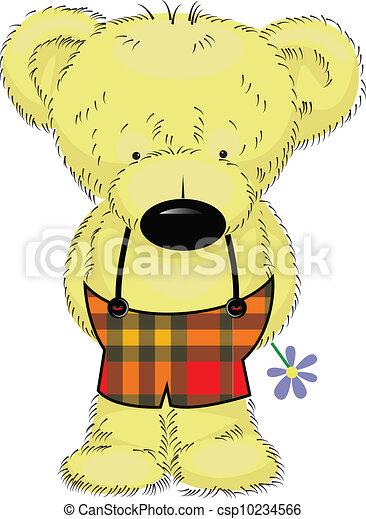 teddy bear - csp10234566