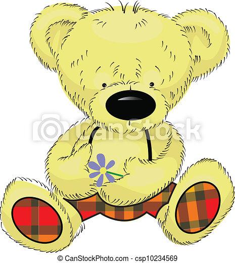 teddy bear - csp10234569