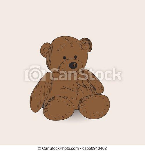 Teddy bear - csp50940462