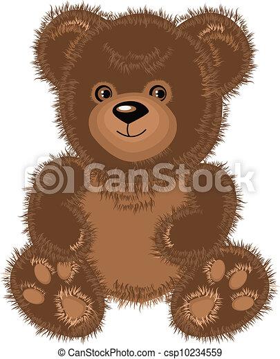 teddy bear - csp10234559
