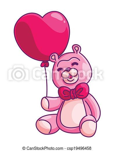 teddy bear - csp19496458