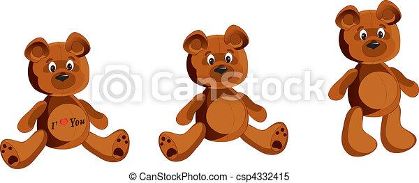 Teddy Bear - csp4332415