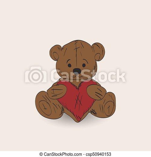 Teddy bear - csp50940153