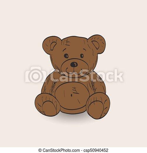 Teddy bear - csp50940452