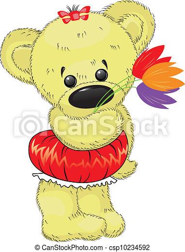 teddy bear - csp10234592