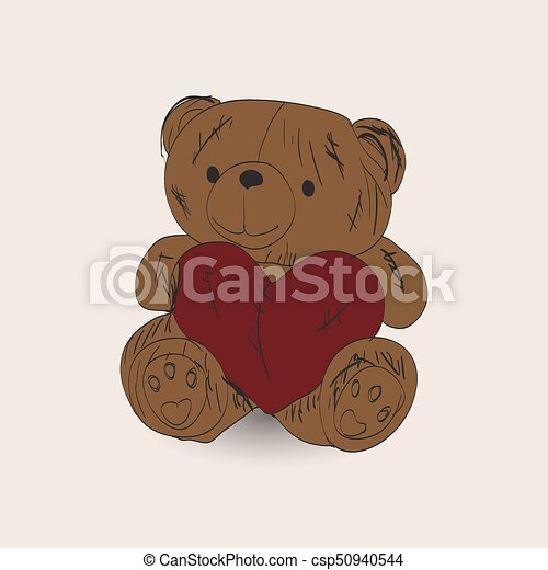 Teddy bear - csp50940544