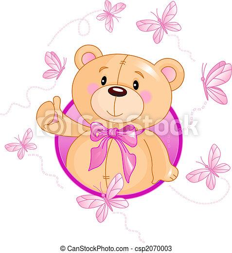 Teddy Bear - csp2070003