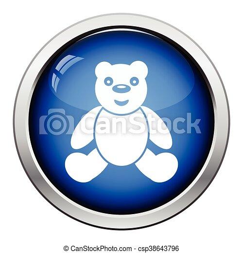 Teddy bear icon - csp38643796