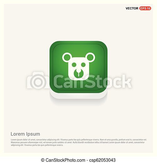 Teddy bear icon - csp62053043